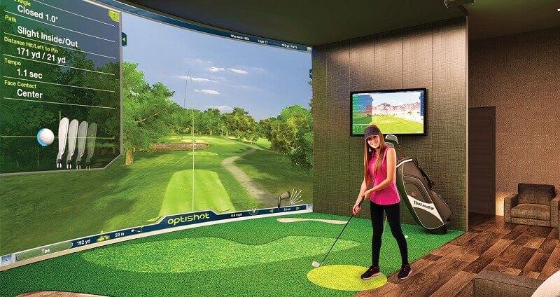 Nếu muốn tập golf mỗi ngày hoặc vài ngày trong tuần, có thể thiết kế sân golf 3D