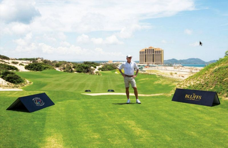 The Bluffs được xếp vào top 100 sân golf thế giới