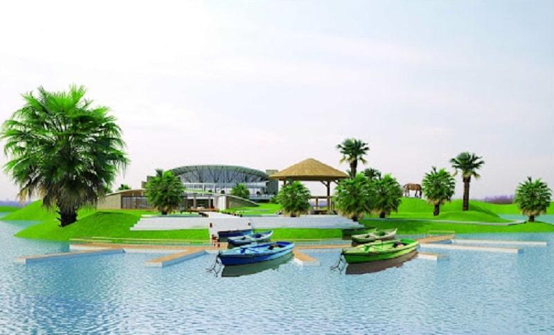 Sân golf Yên Bái là một trong những dự án trọng điểm của tỉnh
