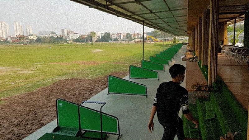 Sân tập golf Cầu Diễn là dự án của phường Cầu Diễn, Bắc Từ Liêm, Hà Nội