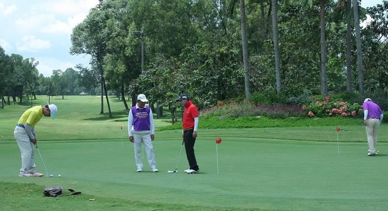 Sân tập golf Rạch Chiếc là một trong những điểm đến lý tưởng của các golfer