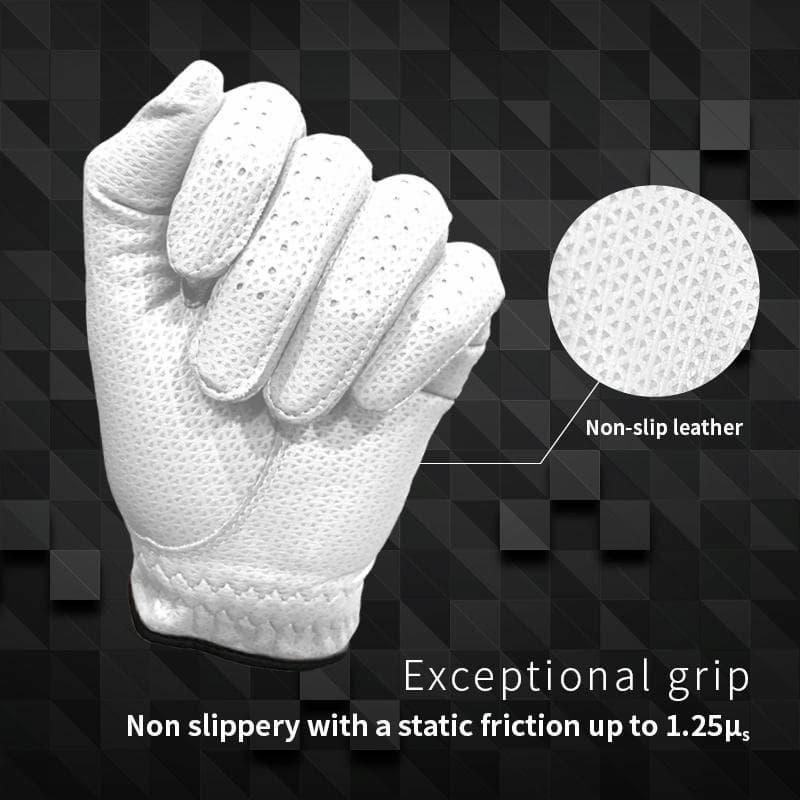 Găng tay golf Fit39 Classic được làm từ vải thun kết hợp với nhiều vật liệu khác