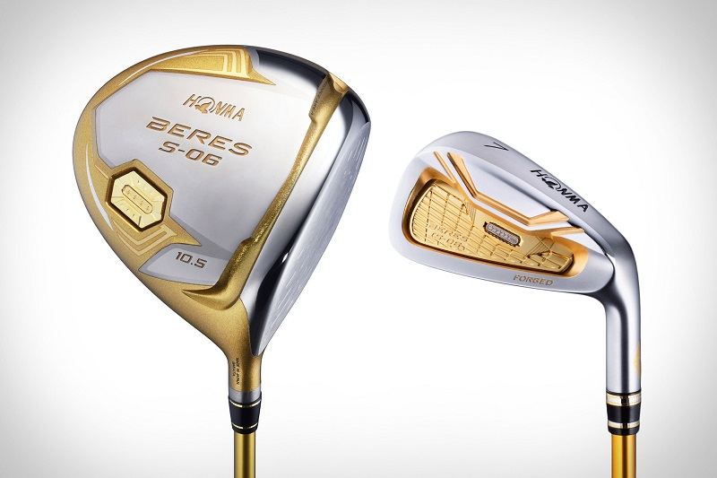 Bộ gậy golf S06 của Honma được tích hợp rất nhiều công nghệ hiện đại