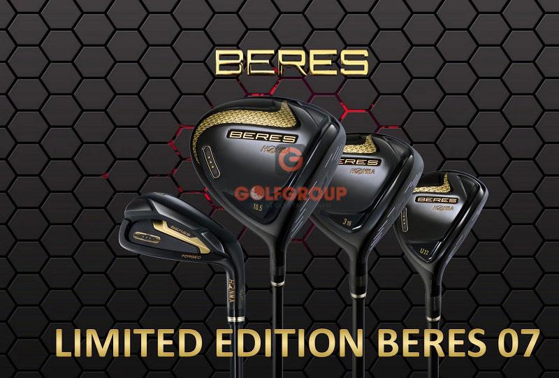 Bộ gậy golf Honma Beres 07 Black Limited Edition sang trọng, cao cấp