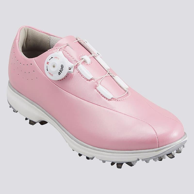 Giày golf Honma SR12003 với 2 gam màu đen - trắng đơn giản nhưng không kém phần khoẻ khoắn, mạnh mẽ