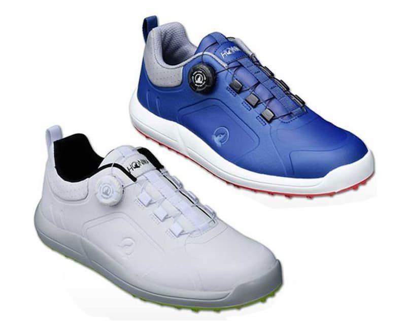 Giày golf Honma SR12002 là mẫu giày dành cho nam với kích cỡ chiều dài phù hợp với bàn chân nam giới