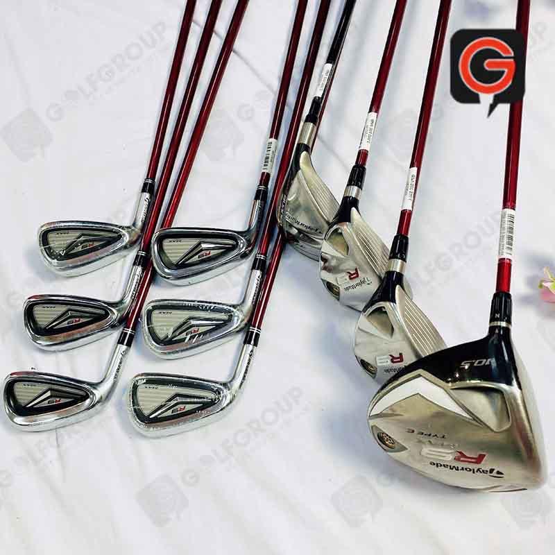Bộ gậy golf fullset Taylormade R9 Tay trái cũ