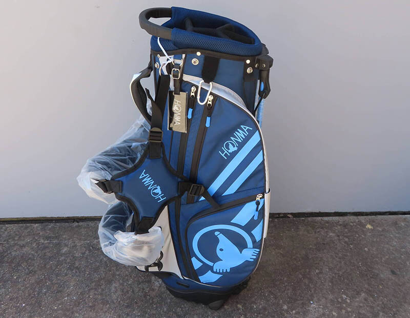 Túi đựng gậy golf cũ của Honma rất được yêu thích