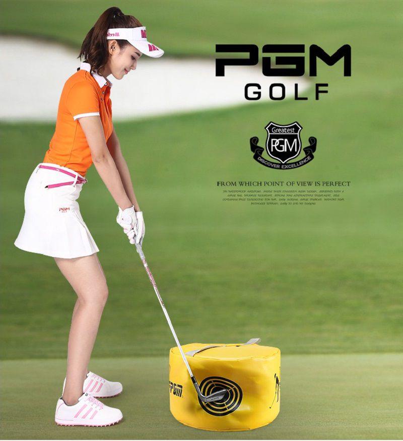 Túi tập swing golf - PGM HL002 được làm từ chất liệu nilon nên đặc biệt mỏng và nhẹ