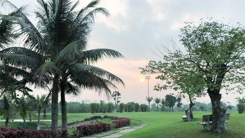 Sân golf An Bình đầy ấn tượng tại Thái Nguyên