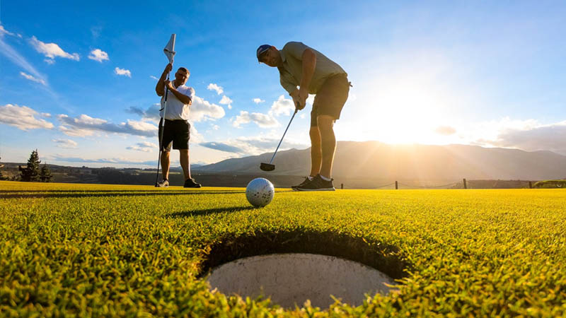 Sân golf có diện tích dự kiến lên đến gần 100 ha