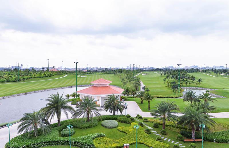 Sân golf TPHCM Tân Sơn Nhất nổi bật