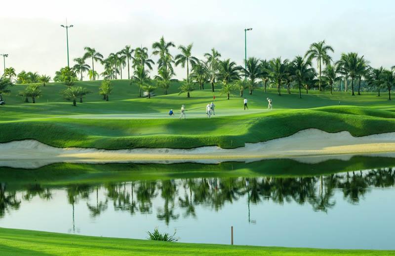 Sân golf Thủ Đức xanh - sạch- đẹp bậc nhất TPHCM