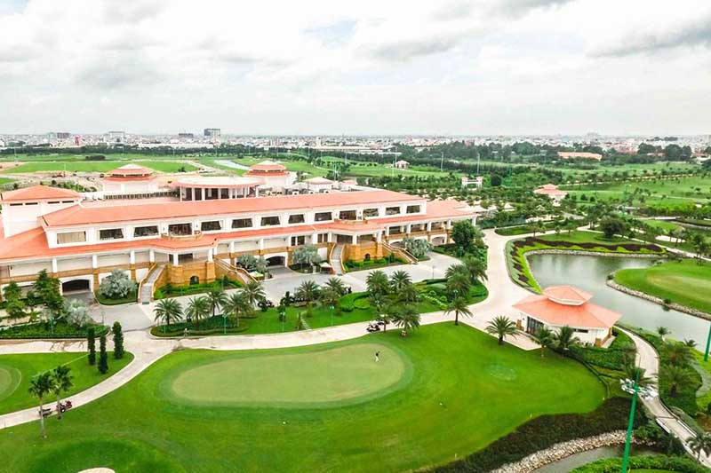 Sân tập golf Him Lam đầy thử thách cho golfer