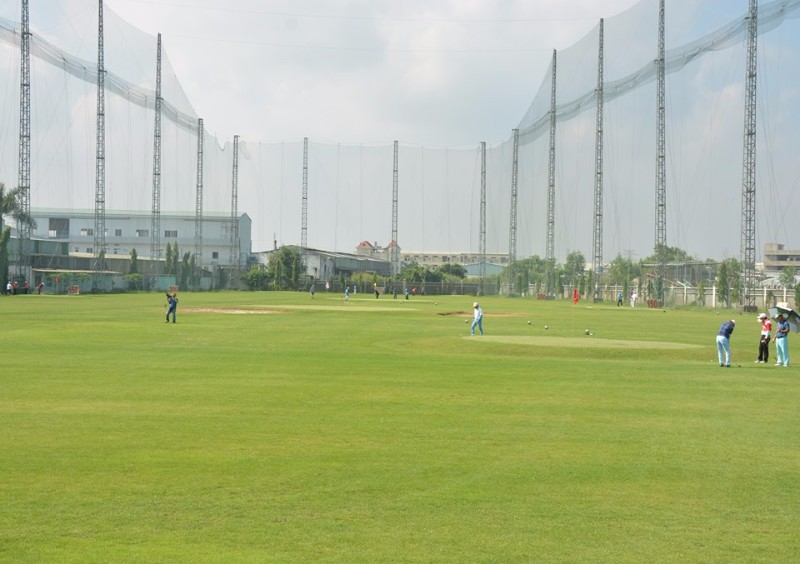 Sân golf Happy có diện tích khiêm tốn nhưng được nhiều golfer yêu thích
