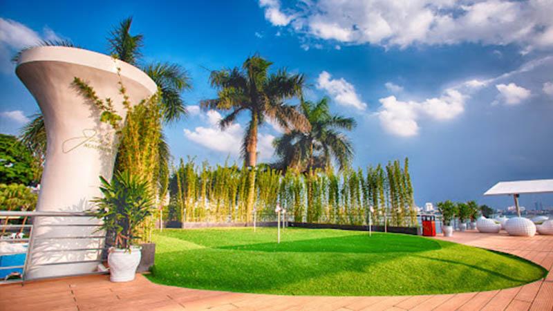 Khách sạn Thắng Lợi là địa điểm hoàn hảo của học viện golf Jack Nicklaus