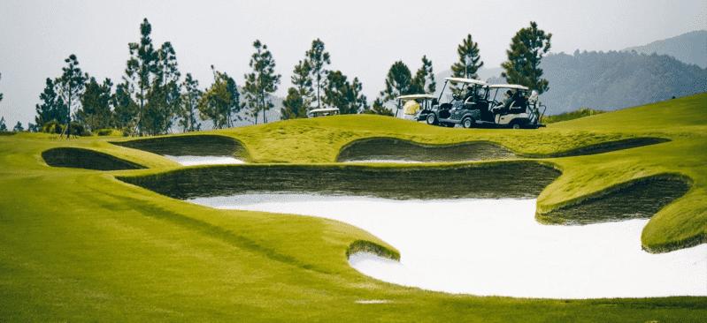 Các loại hình và chất lượng dịch vụ tại sân golf Thanh Lanh vẫn đang được bổ sung hoàn thiện