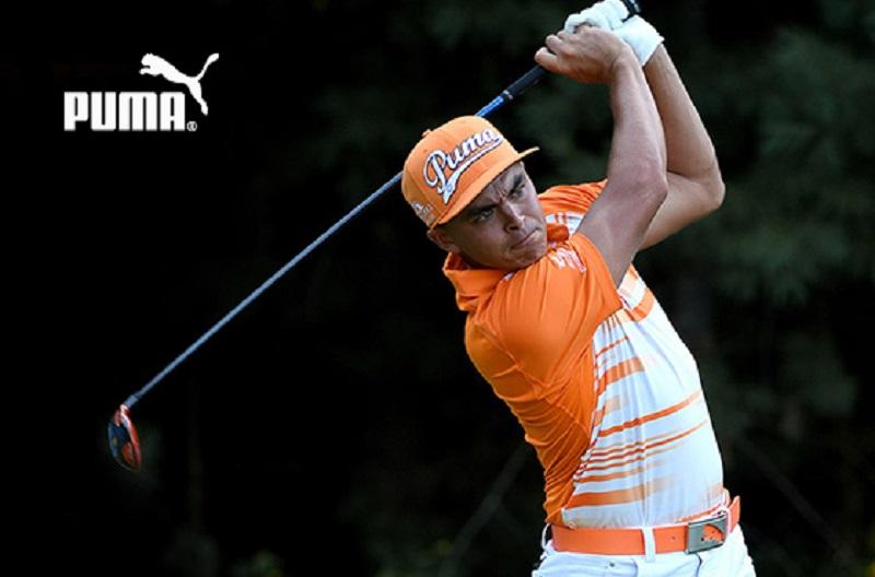 Golfer nổi bật trong set đồ golf Puma